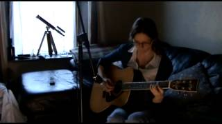 Light And Day - Solo Acoustic Guitar - Polyphonic Spree Cover performed by Laura Maye