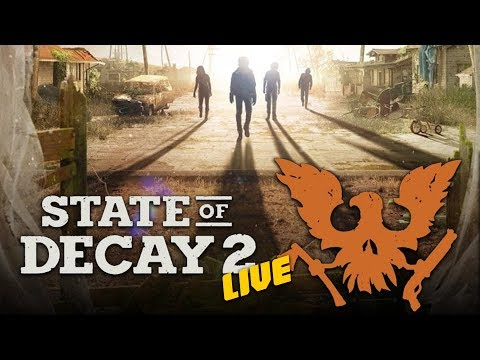 STATE OF DECAY 2 RELEASE DAY - ZOMBIE APOCALYPSE BEGINS HERE - XBOX ONE