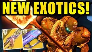 Destiny 2: NEW FORSAKEN DLC EXOTICS! - Void Sword! - Thorn Returning?