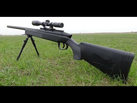 Снайперская винтовка на пульках ZM  51  SSG 69  Sniper Rifle