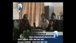 Refred ngunda reçoit Drammatik et wenny du groupe kange avec new style ndombolo