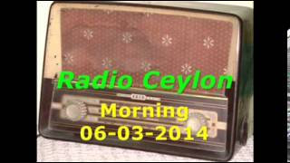 Radio Ceylon 06-03-2014~Thursday Morning~01 Bhajans