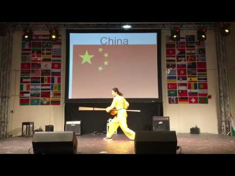 Kung Fu performance in DIA  Dubai International Academy