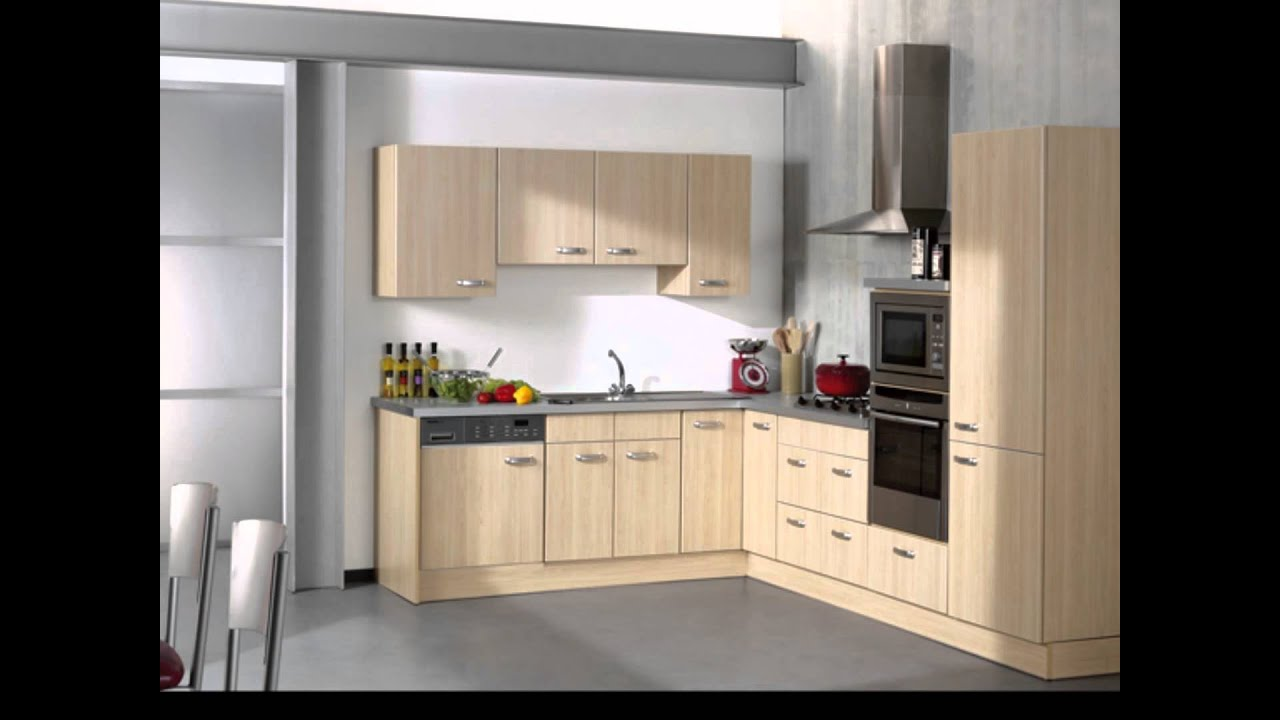image gallery modele de cuisine moderne. Black Bedroom Furniture Sets. Home Design Ideas