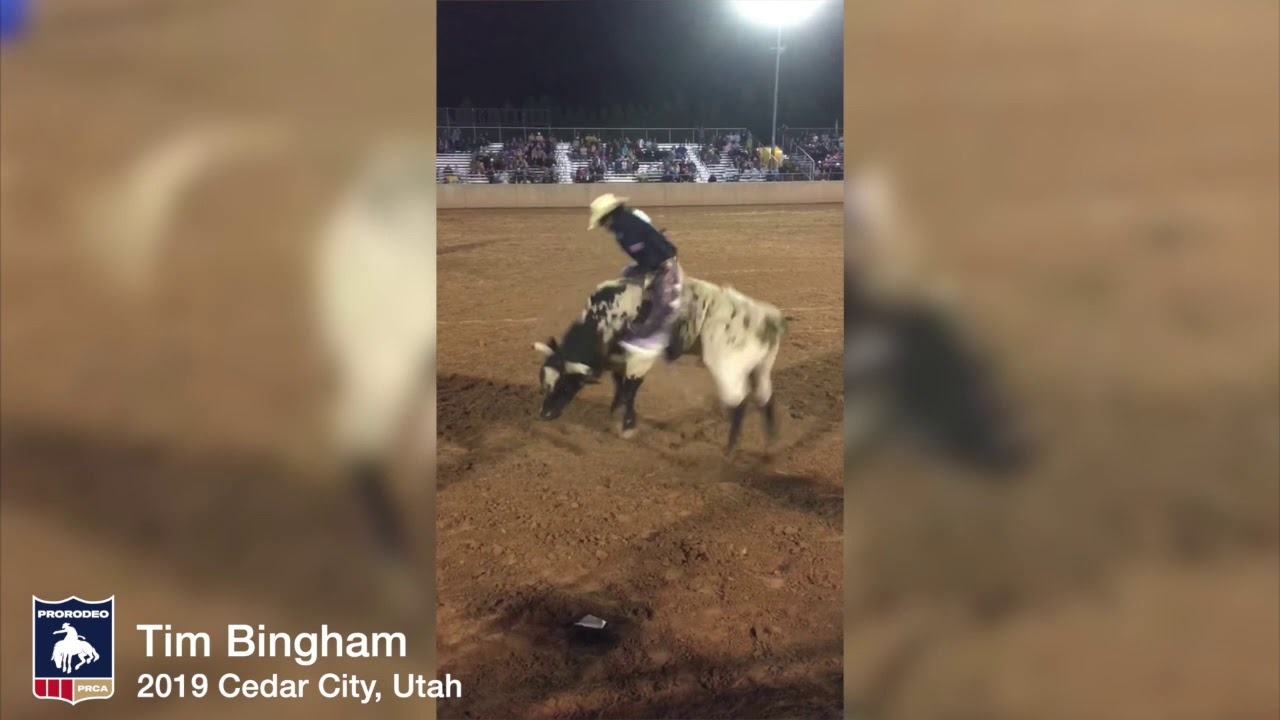 PRCA's Tim Bingham bounces back again