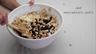 How To Make White Chocolate Macadamia Cranberry Dreams