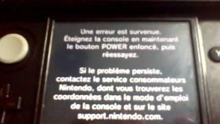 Bug des jeux Ambassadeurs sur 3DS