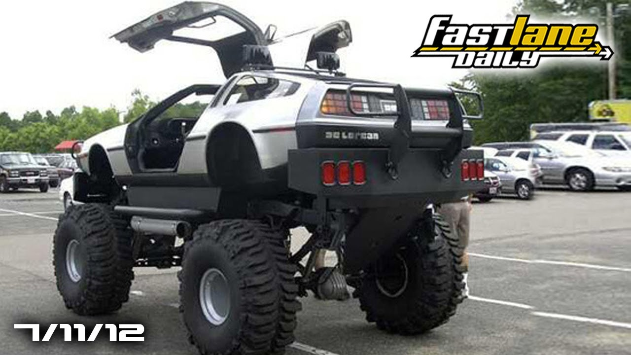 Delorean Monster Truck Detomaso Bankrupt Us Bmw M Specs