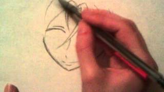 How to draw Rin Matsuoka Step by step