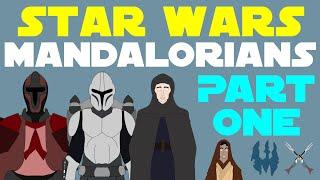 Star Wars Canon: Mandalorians (Part 1 of 3)
