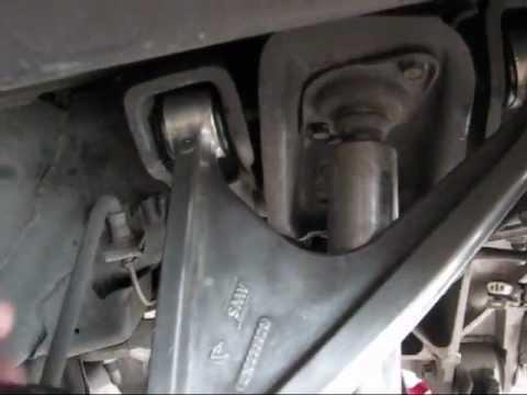 Corvette install poly bushings rear upper control arm C5 Z06 by froggy