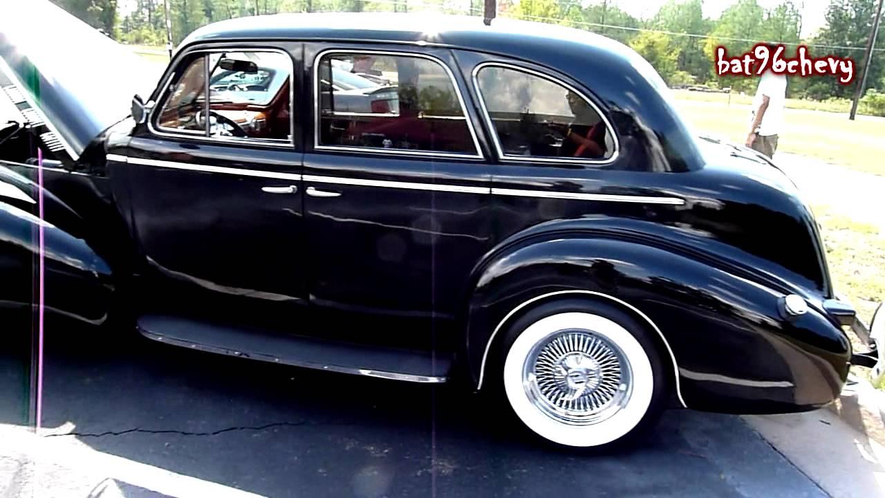 Black interior doors - 1940 Pontiac Sedan Original Hd Youtube