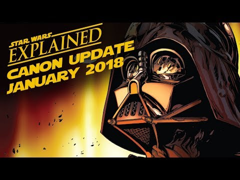 January 2018 Star Wars Canon Update