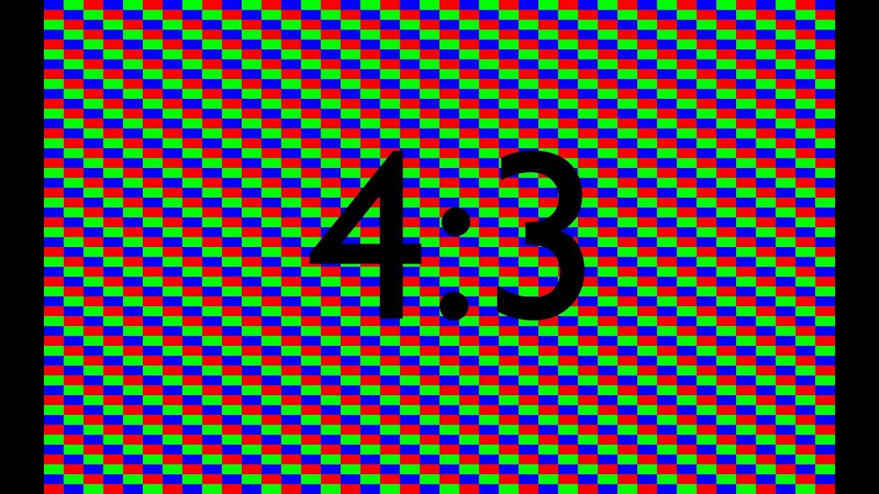 Broken Pixels: HD LCD Screen Burn In / Stuck Pixel Fix For Ratio 4:3 1hr