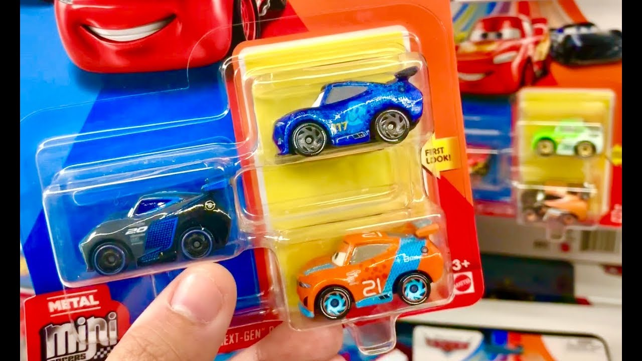 Disney Cars Toy Hunt Next Gen Mini Racers 2 Pack Hot Wheels