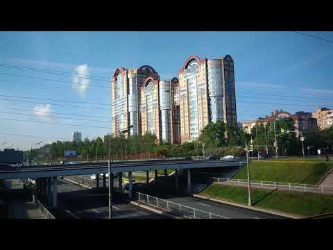 . Москва-Белорусский вокзал-Можайский район. Поездка на скоростном поезде Ласточка в Смоленск