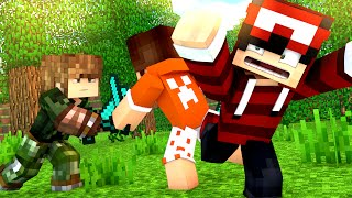 Minecraft: A PRIMEIRA BATALHA! #2 (HARDCORE NO TWILIGHT)