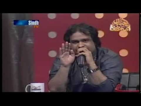 Ameer Ali in Voice of Sindh Season 2 Part One) Judges Irfan Samo,Mumtaz  Ali,Abdul Ghaffar Tabasum &