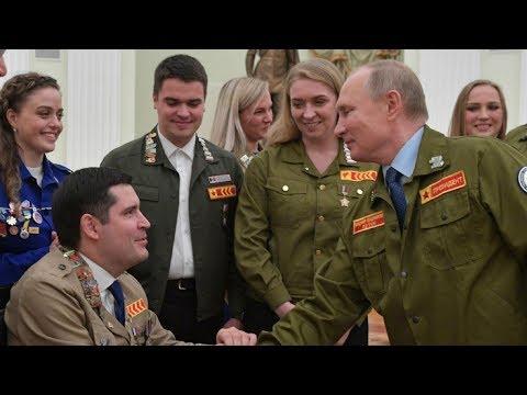 Путин отдал должное студотрядам!