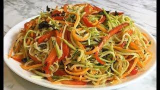 Кабачки По-Корейски Это Очень Вкусное и Красивое Блюдо Всем Рекомендую!!! / Korean  Zucchini