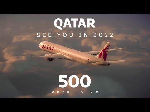 500 days till the FIFA World Cup Qatar 2022 | Qatar Airways