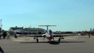 Aero Vodochody L-29 Starup and Takeoff [N11CD] KOEO