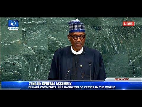 Buhari Assures World Leaders Of Nigeria's Commitment To UN