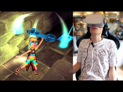VR DUNGEON CRAWLER WITH 360° GAMEPLAY! | Lila's Tale (Oculus Go Review)