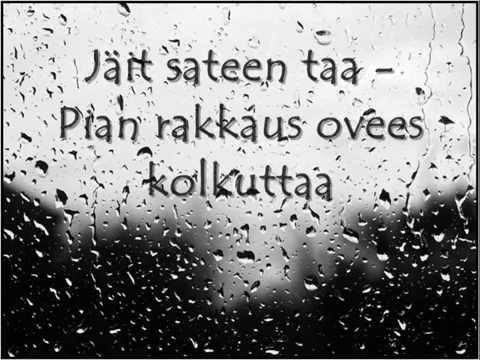 Kurre - Jäit sateen taa videó letöltés