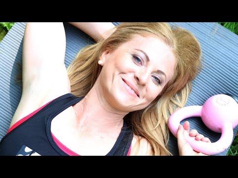 Cviky na hubnutí - trénink #11 | Danča Video.com