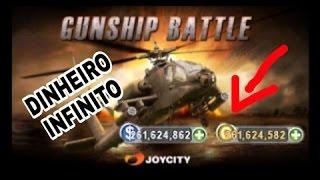 Gunship Battle 3D - DINHEIRO INFINITO  (SEM ROOT)