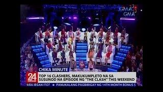 Top 16 clashers, makukumpleto na sa susunod na episode ng