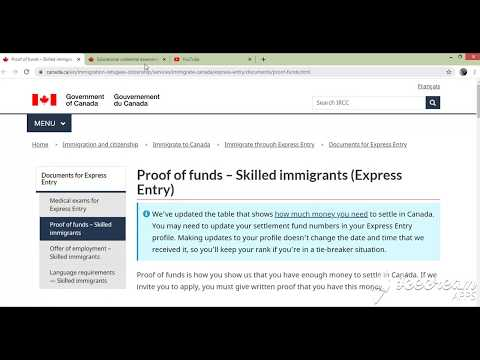 Express Entry Funds Requirement Changes (Proof Of Funds)