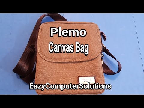 Plemo Canvas Messenger Bag: Vintage Shoulder Messenger Bag | Causal Crossbody Handbag