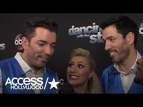 'DWTS': Drew Scott, Jonathan Scott & Emma Slater On Their Surprise Performance