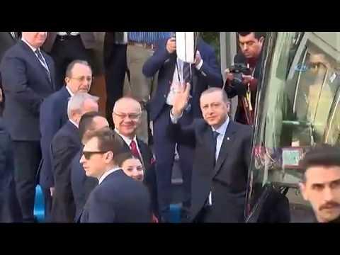 Cumhurbaşkanı Erdoğan Manisa Valiliği'nde