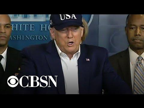 President Trump tested for coronavirus