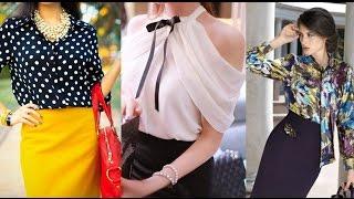 видео Женские блузки