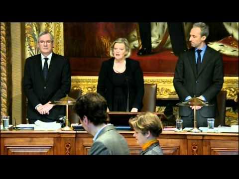 Herdenking Minister van Staat, mevrouw E. (Els) Borst-Eilers