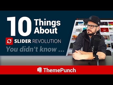 10 things about Slider Revolution you didn't know...