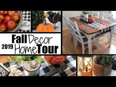 *NEW* FALL DECOR HOME TOUR / FARMHOUSE FALL DECOR / FALL 2019