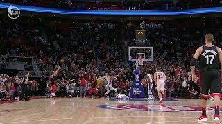 Fred VanVleet Hits Game Winning Shot To Beat Pistons! Raptors vs Pistons