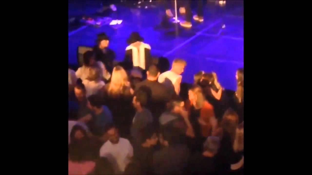 Justin Bieber Vanessa Hudgens at Hillsong Church in LA