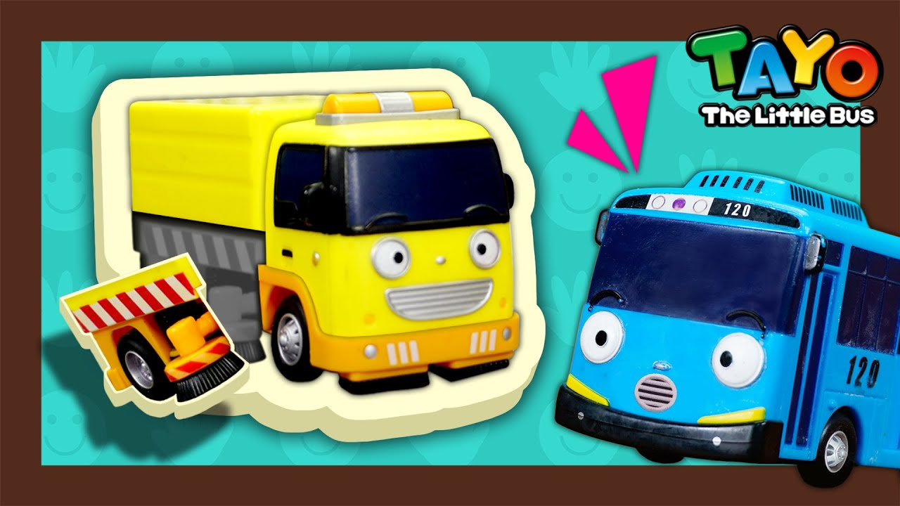 Rubby falls off from the street l Tayo Mini Game l Tayo the Little Bus