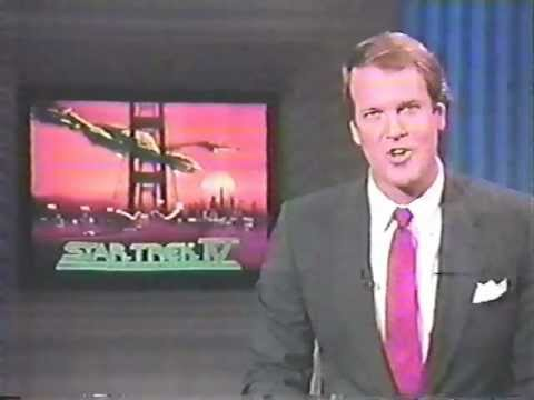 """Download """"Star Trek IV: The Voyage Home"""" box office report from """"Entertainment Tonight,"""" November 1986."""