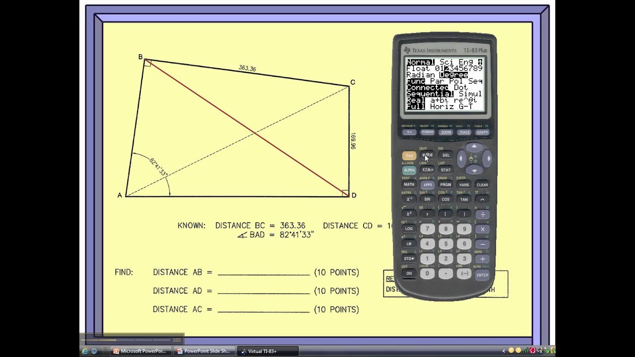 Trig-Star: Question 3, Part 1 - YouTube