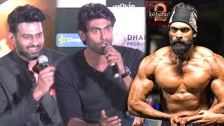 Prabhas & Rana's BEST Reply To Reporter Asking if Their Body In Baahubali Is Real Or Fake
