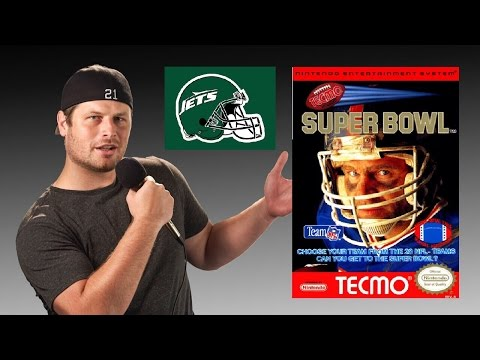 Tecmo Super Bowl - NES - New York Jets - Tecmo Madison XIII Training