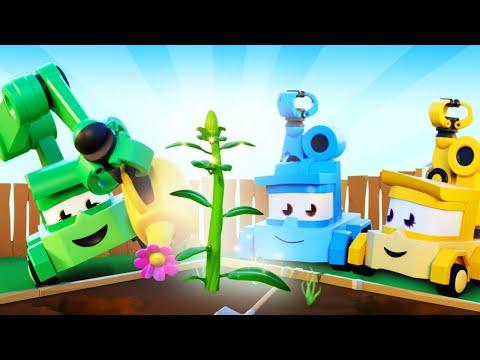 мультики с грузовиками для детишек - Ученики садовника - Truck Games