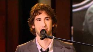 Josh Groban makes Savanna